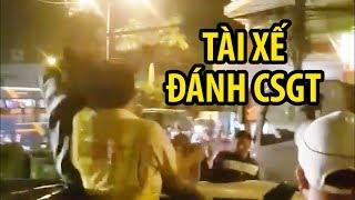 Đại úy CSGT bị tài xế đấm túi bụi trên đường phố Biên Hòa