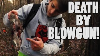 [GRAPHIC] Blowgun Hunting Ep. 10 - Toughest Squirrel Ever!