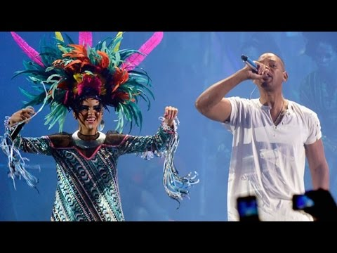 Will Smith and Bomba Estereo Have a 'Fiesta' at the Latin GRAMMYs