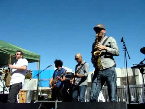 Urge to Be Violent - Balkan Beat Box Israel in the Gardens SF 2012