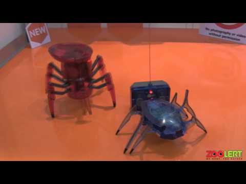 HEXBUG - The Scarab XL and The Spider XL - NY Toy Fair 2013