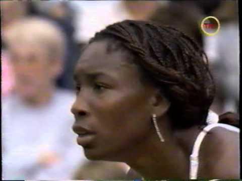 2002 Wimbledon SF:  Venus Williams d Justine Henin (second set)
