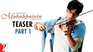 download lagu Mohabbatein - Teaser 1  Amitabh Bachchan  Shah gratis