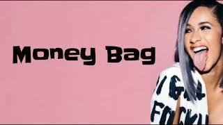 Cardi B - Money Bag (Lyrics)