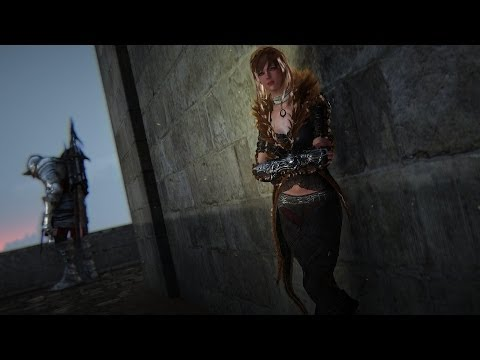 Black Desert Online Level 50 Sorceress Skill and Slow Motion Effects UHD