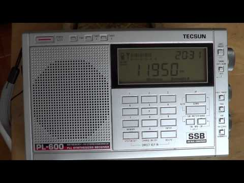 Radio Japan french 11950 Khz on Tecsun PL 600