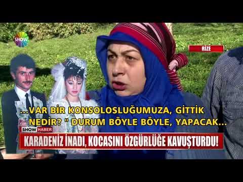 Karadeniz inadı, kocasını özgürlüğe kavuşturdu!
