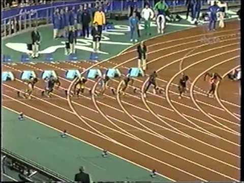 2000 Olympics (100m Quarter-Finals) - Maurice Greene/Donovan Bailey/Bruny Surin - Sydney, Australia