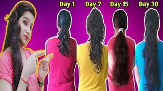 Apply this double hair growth protein hair mask on your thin hair & Your Hair will Never StopGrowing
