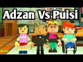 ADZAN vs PUISI : Parodi Kartun Lucu - Funny Cartoon - Animasi Indonesia Lucu