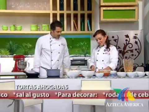 Tortas Ahogadas...Receta Mexicana