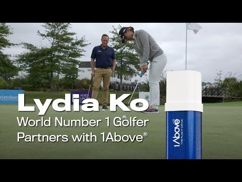 Lydia Ko Partners with 1Above - The Flight Drink to Take on the World!