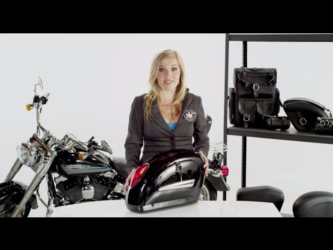Lamellar Hard Motorcycle Saddlebags Review - vikingbags.com