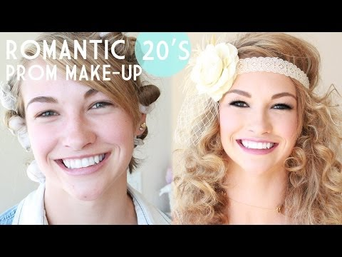 1920's Gatsby Inspired Prom Make-Up