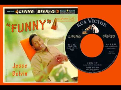 JESSE BELVIN - Funny (1958) First Time in HQ and STEREO!