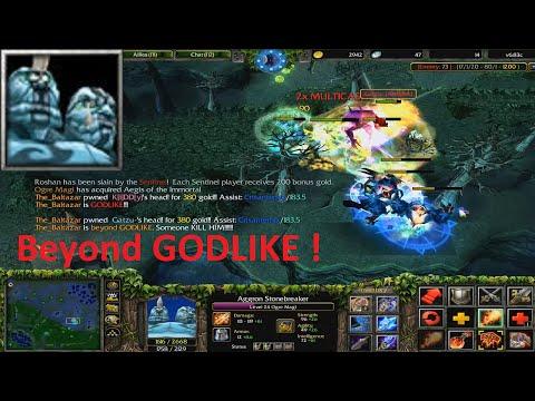 DotA 6.83c - Ogre Magi Beyond GODLIKE !