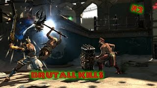 God of War:Ascension Brutal kills #3