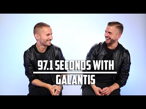 Galantis Dreams of a Stage Made of Ice Cream: 97.1 Seconds With