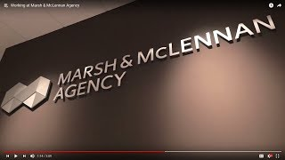 Working at Marsh & McLennan Agency