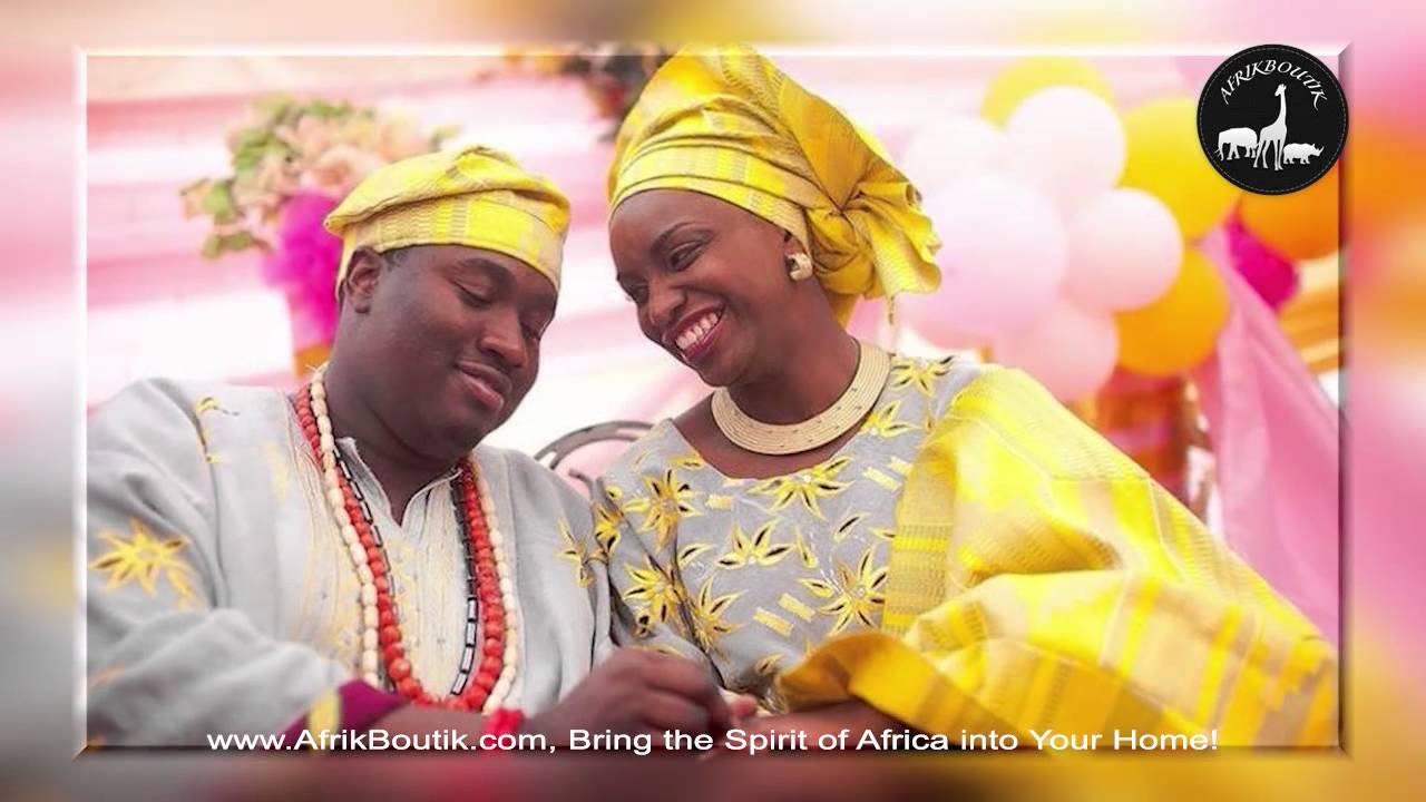 Traditional African Clothing For African Ceremony Youtube