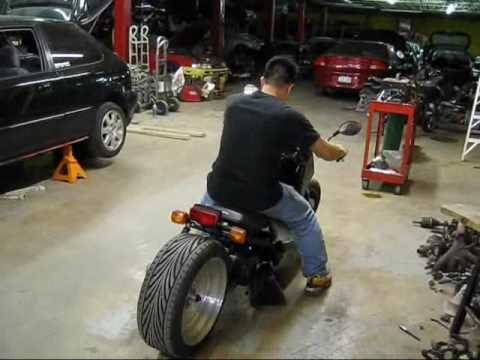 "Intercrew's Honda Ruckus 15"" Rear Wheel - YouTube"