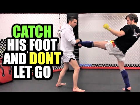 How To Catch Push Kicks | Kickboxing MMA TMA (Kwonkicker) Image 1