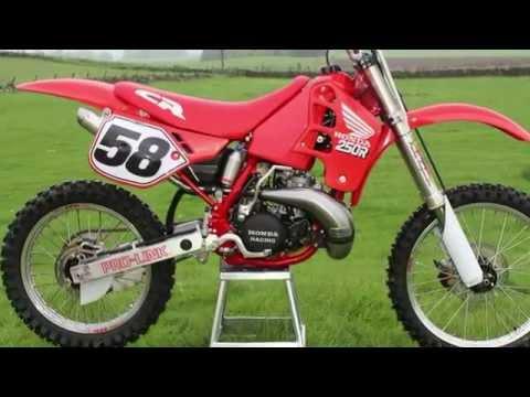 1989 Honda CR250 Evolution Bike