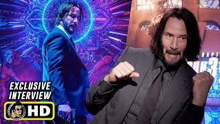 Keanu Reeves Interview for John Wick: Chapter 3 - Parabellum