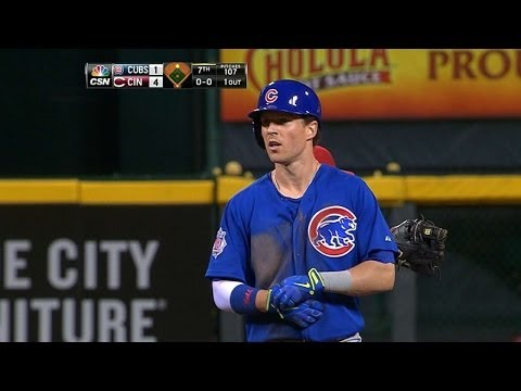 CHC@CIN: Coghlan goes 4-for-5 with two doubles