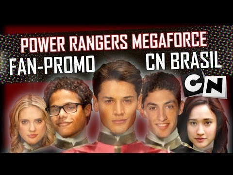 Power Rangers Megaforce no Cartoon Network Fan-Promo