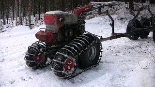 Лопата на трактор своими руками к