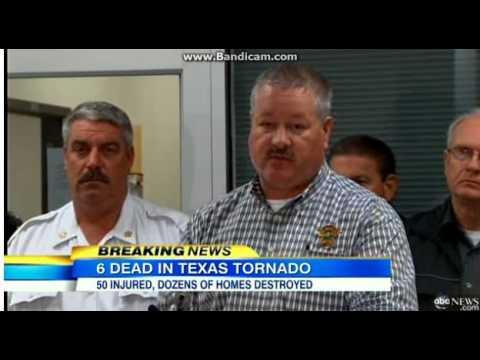 Tornado Strikes Mississippi 2014 5+ Dead - RAW FOOTAGE
