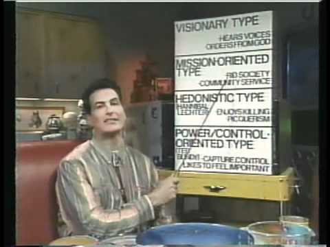 Joe Bob Briggs - Four Types Of Serial Killers