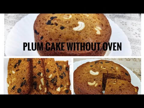 Plum Cake Recipe Christmas special ||Without Oven Non Alcoholic ||Myhappinesszone||ByAshlee