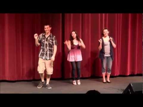"""""""2012"""" Washougal High School ASL Style!"""
