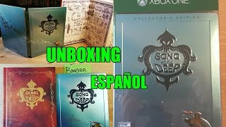 Unboxing-Song of The Deep-XBOX ONE |Edicion Coleccionista| en Español