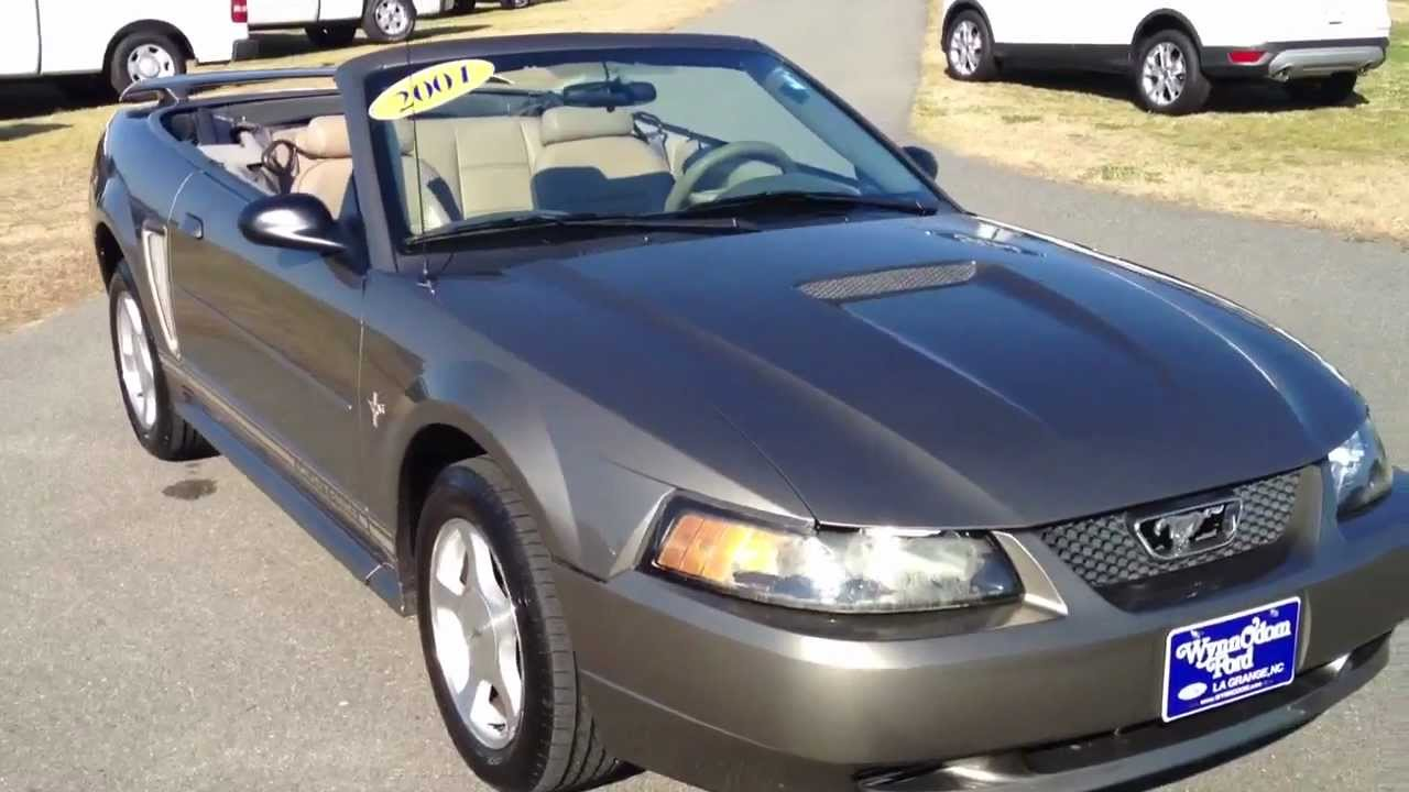 2001 ford mustang convertible mineral gray for sale. Black Bedroom Furniture Sets. Home Design Ideas