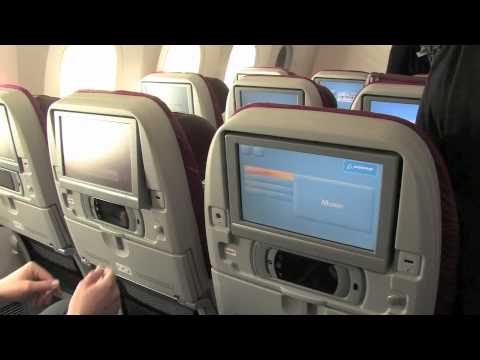 Tour of Qatar Airways' Boeing 787 Dreamliner