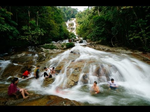 Waterfall Malaysia Perak Lata Kinjang Waterfall Perak