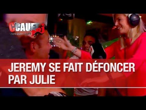 Jérémy se fait défoncer par Julie - C'Cauet sur NRJ