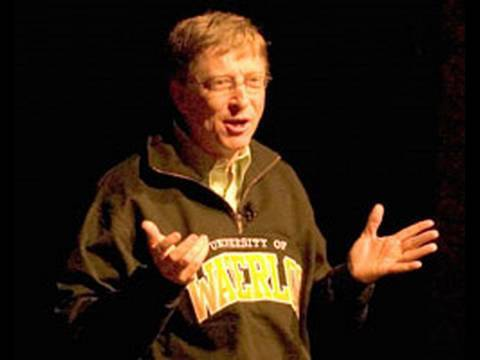Bill Gates' February 2008 visit to the University of Waterloo