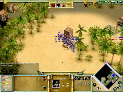 Age of mythology the titans : isis vs isis