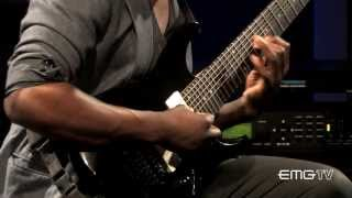 Tosin Abasi Of Animals As Leaders Performs 34 Song Of Solomon 34 On Emgtv