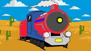 "Train for children - ""Sweet  for little Trains"" - Cartoons for Kids Videos"