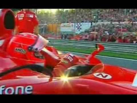 Michael Schumacher ultimo giro con la ferrari