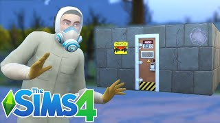 UNDERGROUND BUNKER BUILD | THE SIMS 4 [GAMEPLAY PART 1]