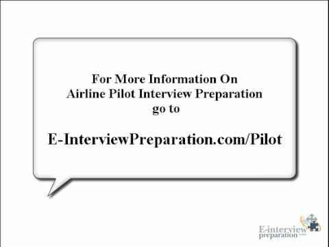 Airline Pilot Job Interview Question Training Course