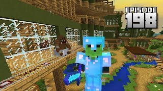 Let's Play Minecraft PE - Ep.198 : House Train!
