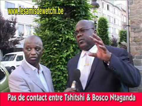 Flix Tshisekedi parle de Bosco Ntaganda &amp; CNDP