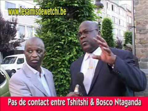 Félix Tshisekedi parle de Bosco Ntaganda & CNDP